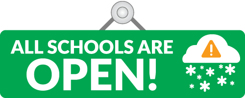 All Schools are OPEN