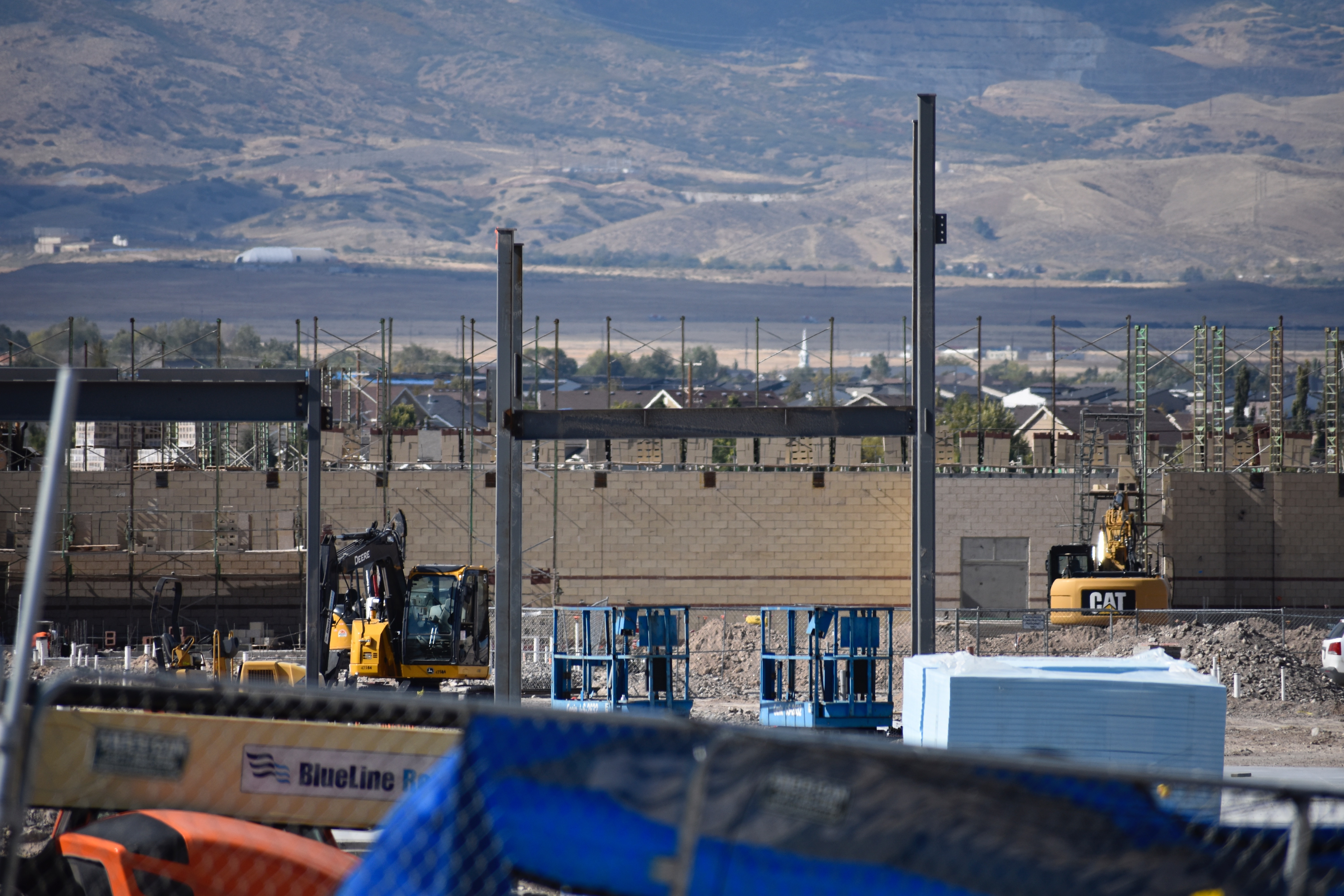 Construction of new high school in Herriman
