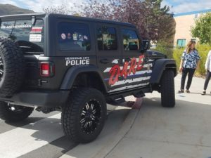 DARE jeep with new design