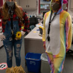 Two JSD Employees Dressed in Costumes