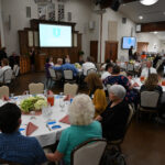 JSD Retirees at a dinner in their honor