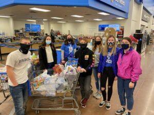 Bingham High Students Shopping