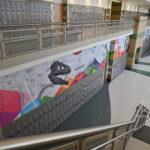 Murals at West Jordan Middle School