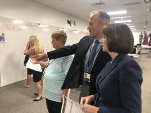State Superintendent on tour of MRHS