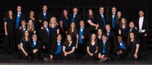 Group photo of the CHHS Madrigals