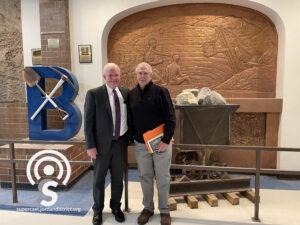 Dr. Anthony Godfrey with Dr. Al Zylstra