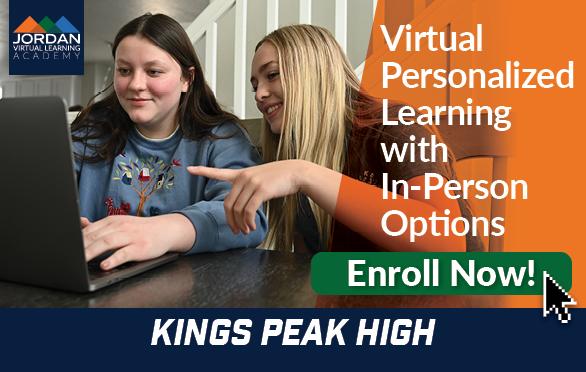 Enroll Now at Kings Peak High